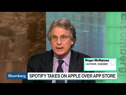 Spotify Antitrust Complaint Against Apple Has Some Weight, Roger McNamee Says