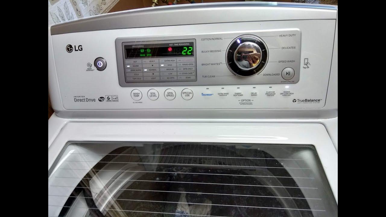Lg Top Load Washer Wt5270cw Leaking Fix Youtube