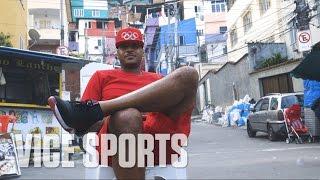 Carmelo Anthony Explores Rio and its Favelas