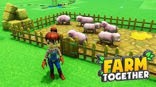 FARM TOGETHER - ALLEVIAMO SUINI E PESCI - GAMEPLAY ITA
