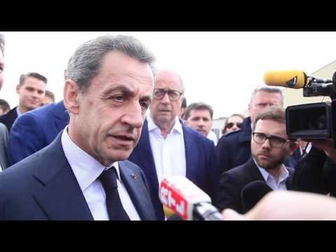 Réaction de Nicolas Sarkozy suite au décès de Michel Rocard - 3 juillet 2016