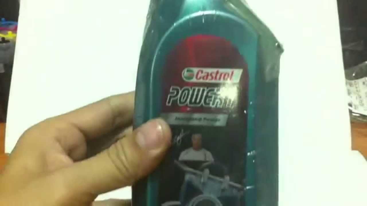 review 2t castrol power 1 beckham 0 5l 4 2002 youtube. Black Bedroom Furniture Sets. Home Design Ideas
