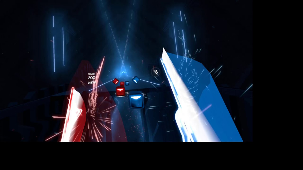 Beat Saber (WIP) - Lace by Christopher Larkin