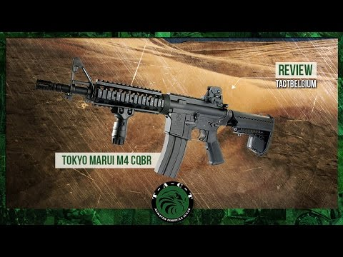 REVIEW- Tokyo Marui Next Generation Recoil Shock CQBR M4