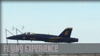 Blue Angels Air Show - Awesome Takeoff & Thrills!