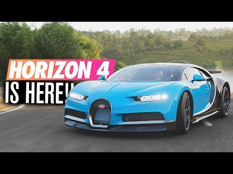 Forza Horizon 4 IS HERE!! | Gameplay