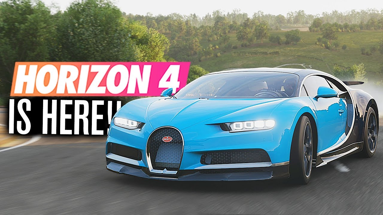 forza horizon 4 is here gameplay youtube. Black Bedroom Furniture Sets. Home Design Ideas