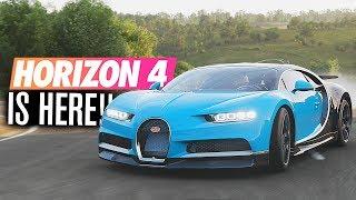 Forza Horizon 4 IS HERE!! | Gameplay Demo