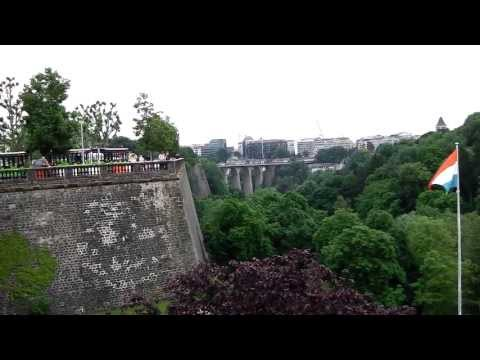 City Walls, Pont Adolphse and Valley, Luxembourg City