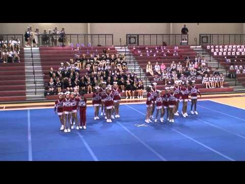 2012 North Forsyth Middle School Cheerleading - Dawson County Competition