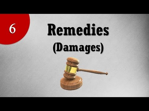 Remedies or Damages under Law of Torts