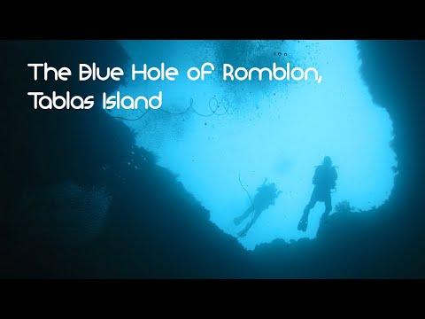 The Blue Hole of Romblon (Tablas Island)