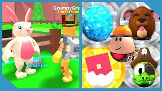 HUGE UPDATE!! EASTER BUNNY + NEW LEGENDARY ORE - ROBLOX MINING SIMULATOR
