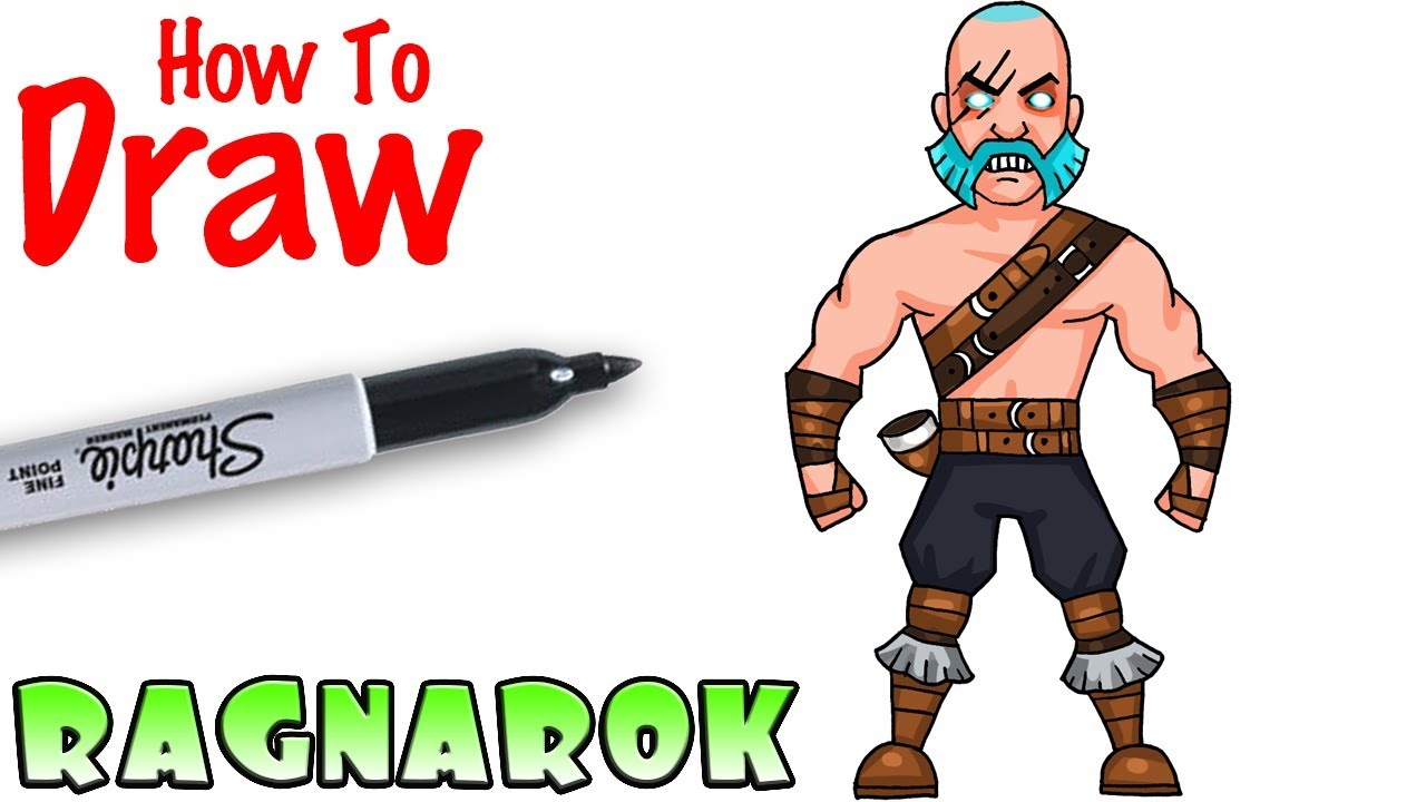 How To Draw Ragnarok Fortnite Youtube