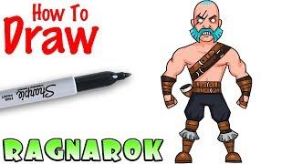 How to Draw Ragnarok | Fortnite