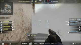 The CS: GO Lurk Master: NiP GeT_RiGhT Ninjas Past 3 Renegade Players in The Smoke