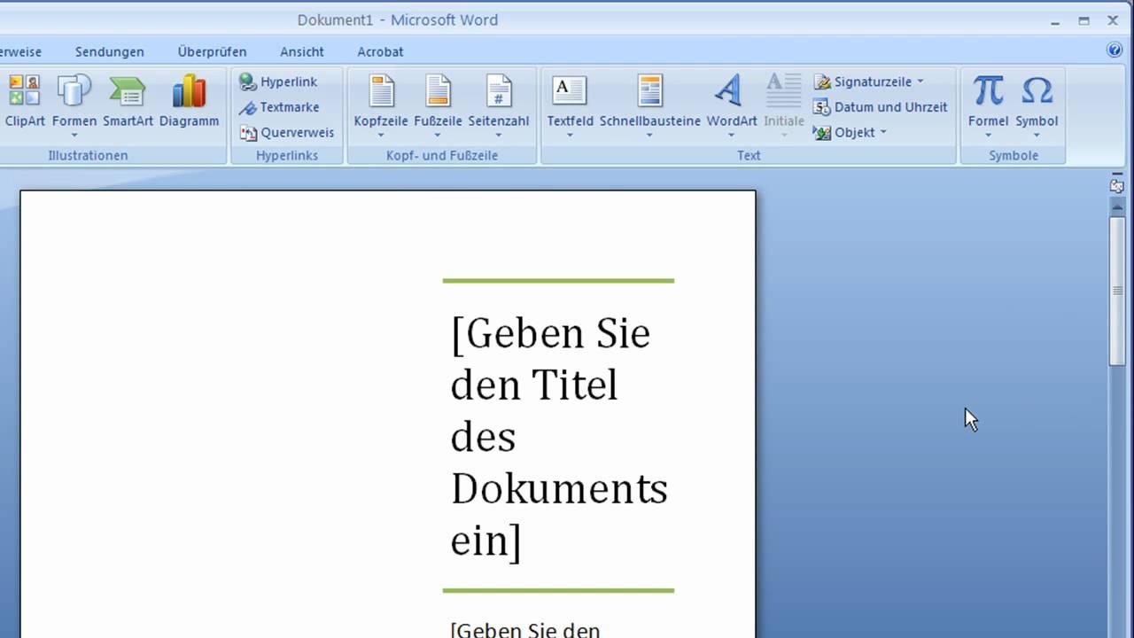 Fein Microsoft Word Dokument Vorlage Fortsetzen Zeitgenössisch ...