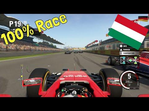F1 2015 - 100% Race at Hungaroring, Hungary in Vettel