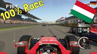 F1 2015 - 100% Race at Hungaroring, Hungary in Vettel's Ferrari