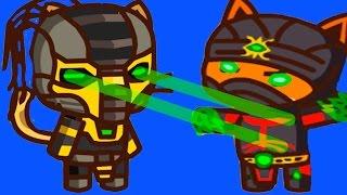 Игра Ударный отряд котят  Для Детей (Strike force league) серия #7