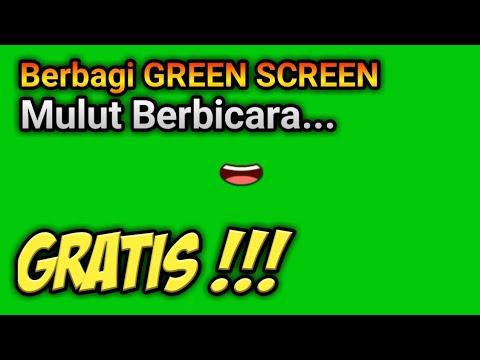 Free Download Green Screen Mulut Berbicara Gratis Youtube