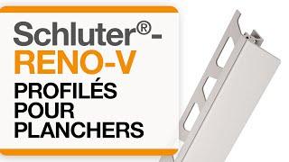 Comment installer le profilé de plancher : Schluter®-RENO-V