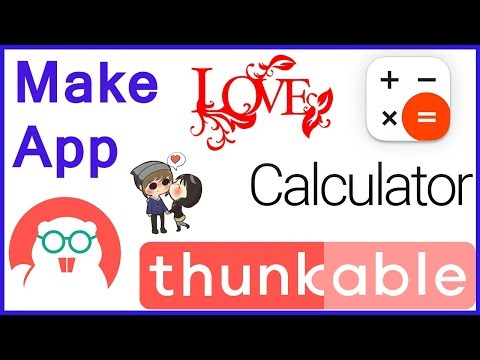 How to make love calculator app in thunkable [ Hindi | Urdu ]