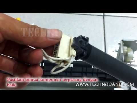 How to Replace Fuser Film Sleeve And Pressure Roller HP Laserjet Pro 400 m401n - Part 2