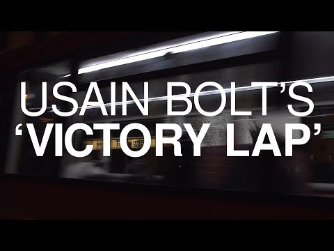 Usain Bolt Takes A Virtual Victory Lap Through London Ahead Of His Final Race