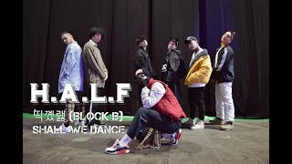 블락비 (Block B) - Shall We Dance Cover H.A.L.F
