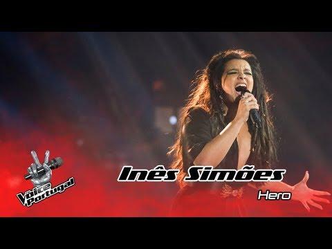 "Inês Simões - ""Hero"" (Mariah Carey)   Gala   The Voice Portugal"