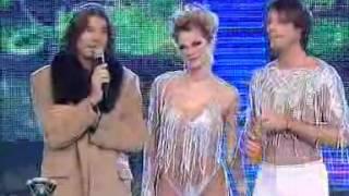 Showmatch 2007 - La curva de Eliana Guercio