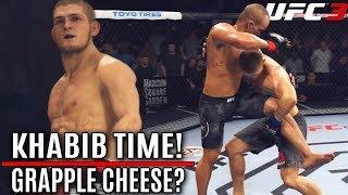 EA UFC 3: Khabib Nurmagomedov Is The Grapple KING! EA Sports UFC 3 Online Gameplay