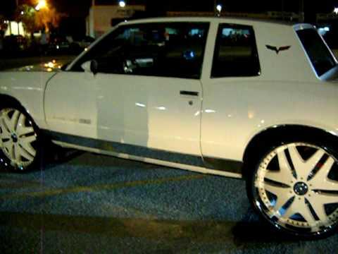 Acewhipsnet White Chevy Monte Carlo Ss On 24s Doovi