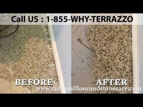 How to Repair Your Terrazzo Floors Service in Broward County