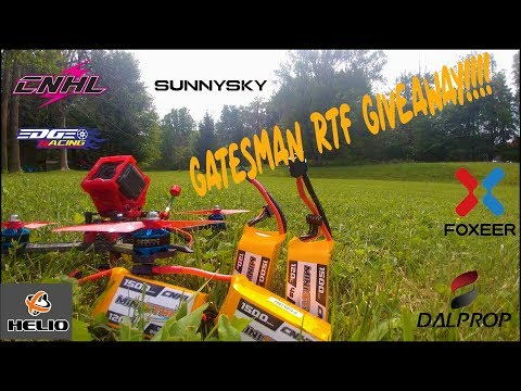 Gatesman RTF Giveaway!!! with CNHL Batteries!!!