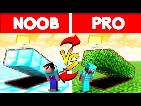 Minecraft NOOB Vs PRO Life In Minecraft Animation 3 (Completo)