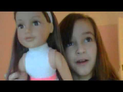 my designer friend doll school outfit - YouTube