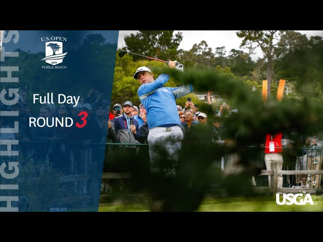 2019 U.S. Open, Round 3: Extended Highlights