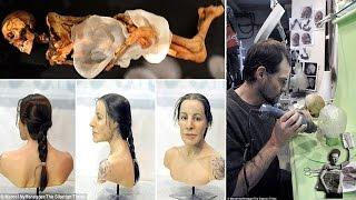 Face of tattooed mummified princess finally revealed after 2,500 years
