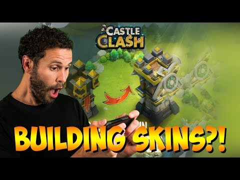 Building SKINS With STAT Boost Are Coming To Castle Clash