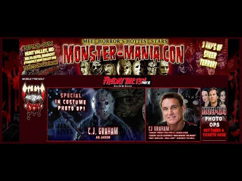 Monster-Mania 44: New killer guests and photo-ops to die for!