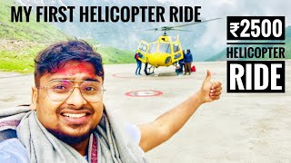 My First ₹2500 Helicopter Ride In Himalayas | Helicopter Review in Tamil | Vlog..#5