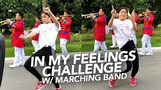 Download Video In My Feelings Challenge With Marching Band | Ranz and Niana MP3 3GP MP4