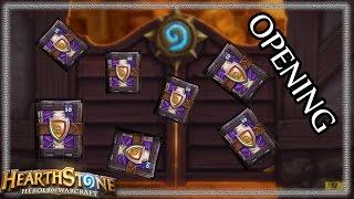Otevírání 115 Hearthstone packů!