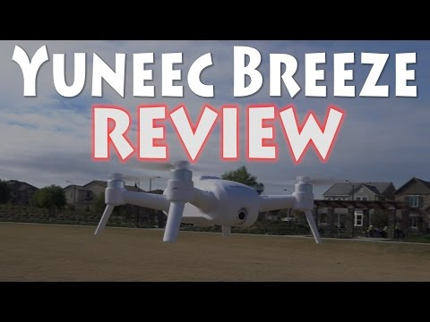 Yuneec Breeze 4K Flying Camera Review