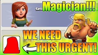 "We Need To Upgrade This ""Magician"" Urgently In Clash Of Clans 