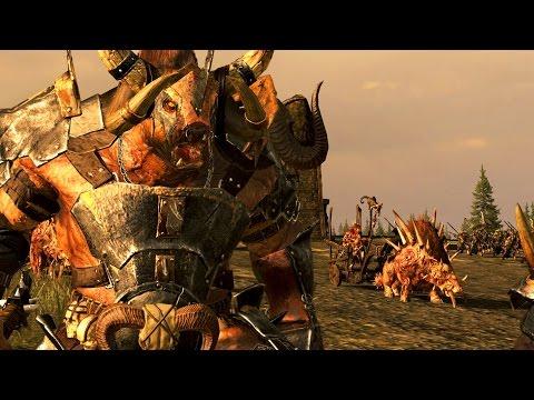 The Beastman Versus Greenskin - Civil War Of The Beastman ! Massive Battle Total War Warhammer  