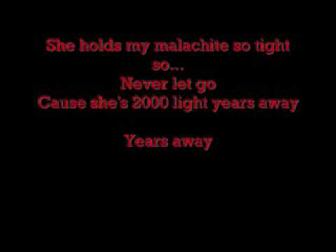 Green Day 2000 light years away with lyrics