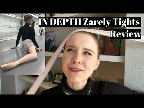 In Depth Zarely Ballet Tights Review | TwinTalksBallet